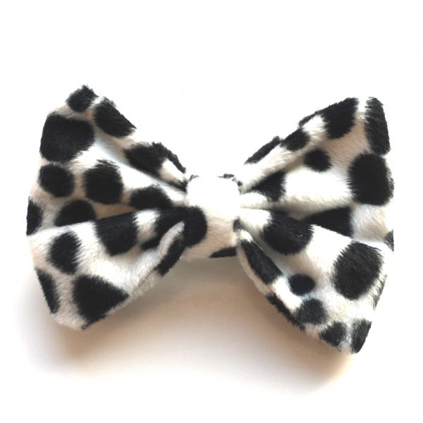 Hair-bow-dalmation