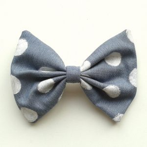 hair-bow-denim-polka-dots