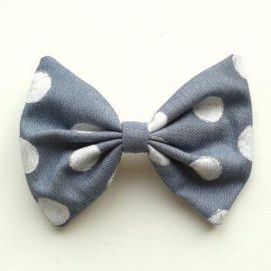 hair-bow-denim-polka-dots