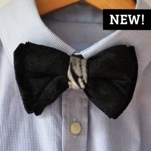 classy bow tie zebra